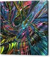 Cr8zy Butterfly Fx  Canvas Print