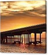 Crab Island Bridge Canvas Print