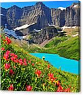 Cracker Lake Canvas Print