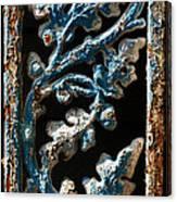 Crackled Coats Canvas Print