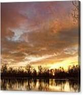Crane Hollow Sunrise Canvas Print