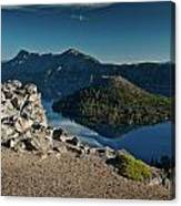 Crater Lake Afternoon Canvas Print