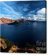 Crater Lake Minus Trees Canvas Print