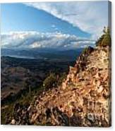 Crater Lake Mountains Canvas Print