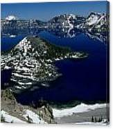 Crater Lake National Park, Oregon Canvas Print