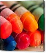 Crayons 2 Canvas Print