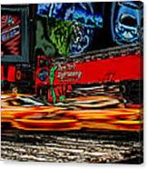 Crazy New York Canvas Print