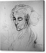 Creation Of A Fairy Canvas Print
