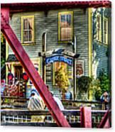 Creek Street - Ketchikan Alaska Canvas Print