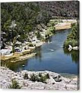 Creek Water Canvas Print