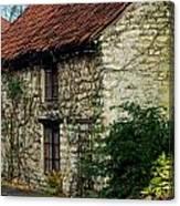 Creeper Cottage Canvas Print