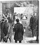 Cremation, 1876 Canvas Print