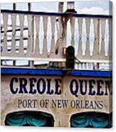 Creole Queen Canvas Print