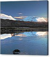 Crianlarich Sunset Canvas Print