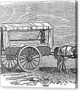 Crimean War: Ambulance Canvas Print