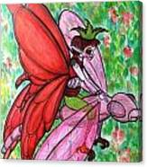 Crimson Wings Canvas Print