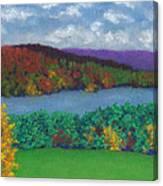 Crisp Kripalu Morning Canvas Print