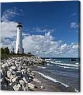 Crisp Point Lighthouse 11 Canvas Print