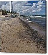 Crisp Point Lighthouse 14 Canvas Print
