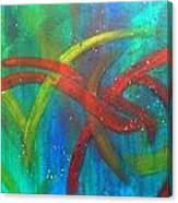 Criss Cross Canvas Print