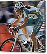 Criterium Bicycle Race 2 Canvas Print
