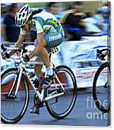 Criterium Bicycle Race 3 Canvas Print