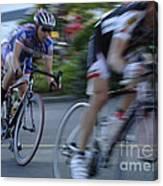 Criterium Bicycle Race 4 Canvas Print
