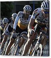 Criterium Bicycle Race 5 Canvas Print