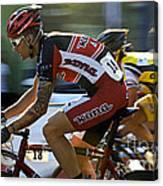 Criterium Bicycle Race1 Canvas Print