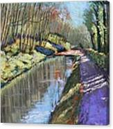 Cromford Canal Canvas Print
