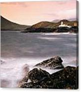 Cromwell Point Lighthouse, Valentia Canvas Print