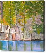 Crooked Creek 1 Canvas Print