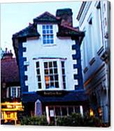 Crooked House Of Windsor Canvas Print