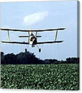 Crop Dusting Canvas Print