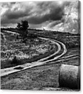 Cross-roads Canvas Print