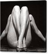 Crossed Legs - Duplex Canvas Print