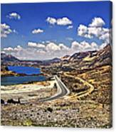 Crossing The Andes 2 Canvas Print