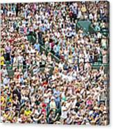 Crowd Of People Canvas Print