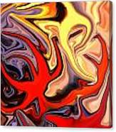 Crown Of Thorns Starfish Canvas Print