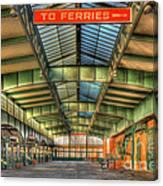 Crrnj Terminal I Canvas Print