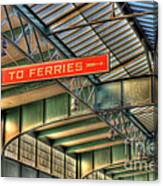 Crrnj Terminal Iv Canvas Print