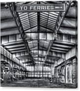 Crrnj Terminal V Canvas Print
