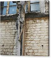 Crucifixion Of Kortrijk Canvas Print