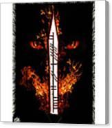Cruel Dragon King Of Scotland Canvas Print
