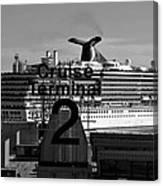 Cruise Terminal Two Canvas Print