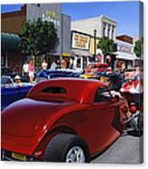 Cruising Main Street Canvas Print
