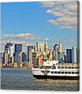 Cruising Past The Freedom Tower Canvas Print