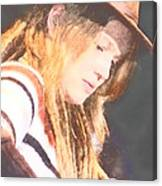 Crystal Bowersox Canvas Print