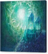 Crystal Cliff Canvas Print