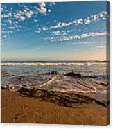 Crystal Cove At Sunset 2 Canvas Print